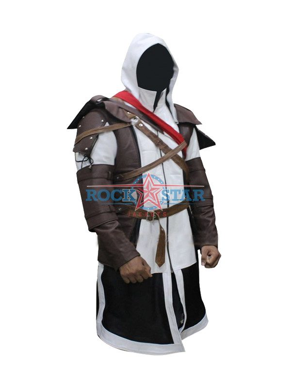 Edward Kenway Assassins Creed Black Flag Jacket Costume Rockstar