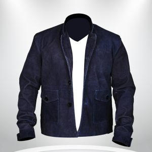 Blue Suede Star Trek Beyond Zachary Quinto Jacket