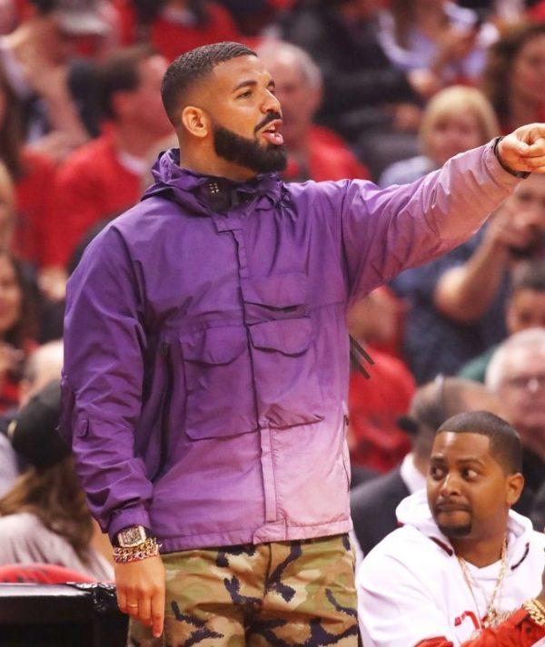 Drake-NBA-Playoffs-PurpleCoat