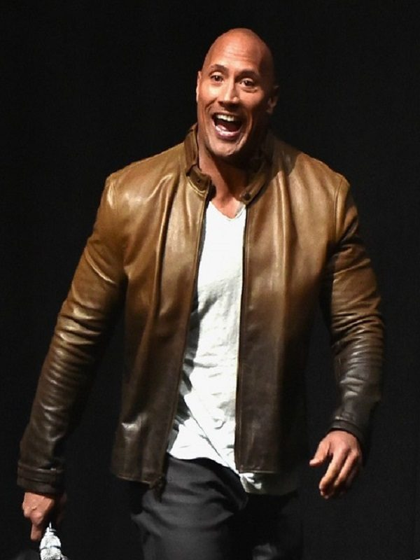 Dwayne Johnson Jumanji Welcome To Jungle Premiere Jacket