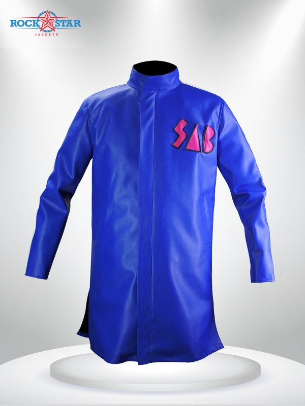Goku Sab Broly Jacket Blue Coat