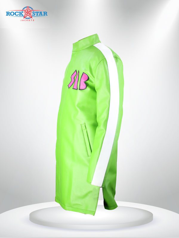 Goku Sab Broly Jacket Green coat