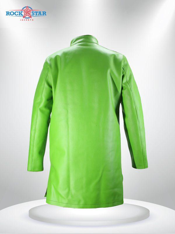 Goku Sab Broly Leather Jacket Coat