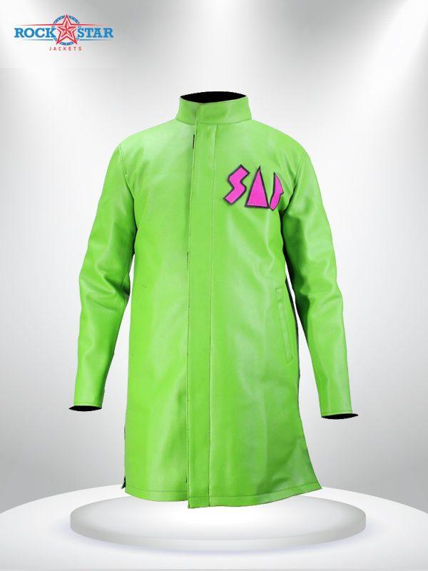 Vegeta Sab Broly Jacket GreenCoat