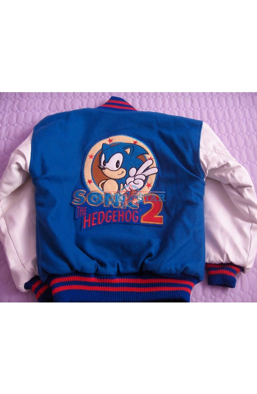 White And Blue Sonic The Hedgehog 2 Jacket Rockstar Jacket