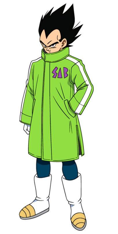 vegeta sab coat