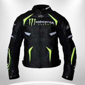 Alpinestars Monster Energy Scream Leather Jacket