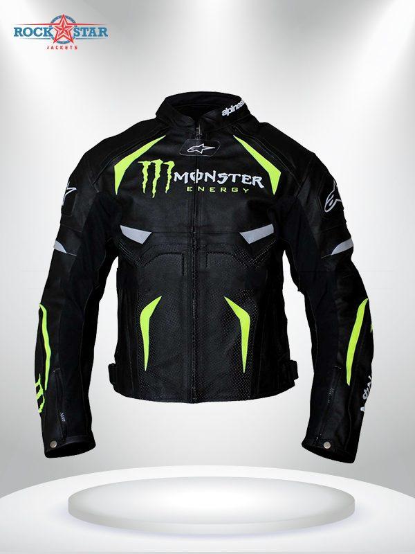 Alpinestars Monster Energy Scream Leather Jacket