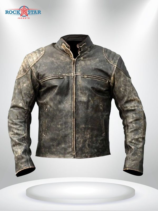 Antique Vintage Distressed Retro Jacket