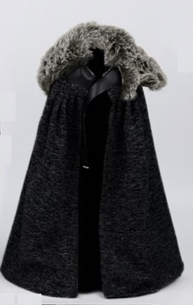 Brienne of Tarth Game of Thrones Fur Shawl Coat