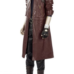 DMC5 Dante Aged Devil May Cry V Leather coat