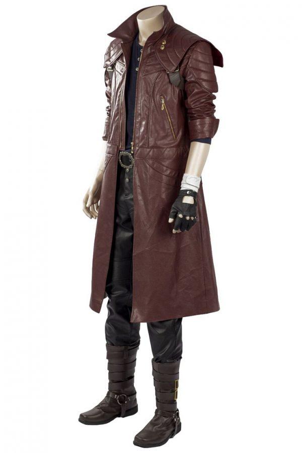 DMC5 Dante Aged Devil May Cry V Leather coat