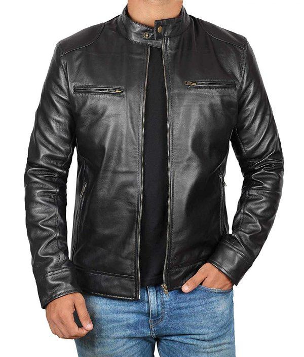 Dodge Lambskin Leather Jicket