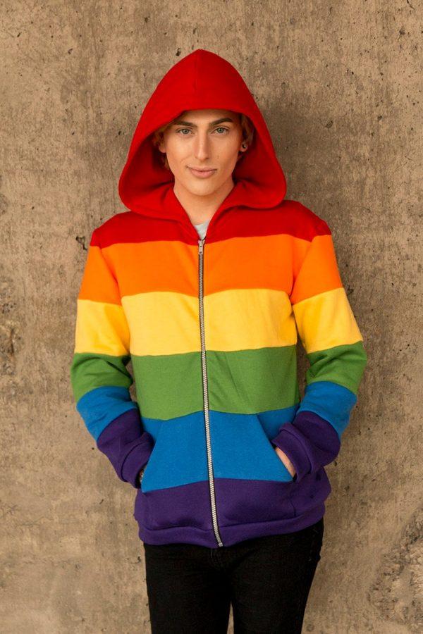 Gay pride Fashion flag hoodiiee