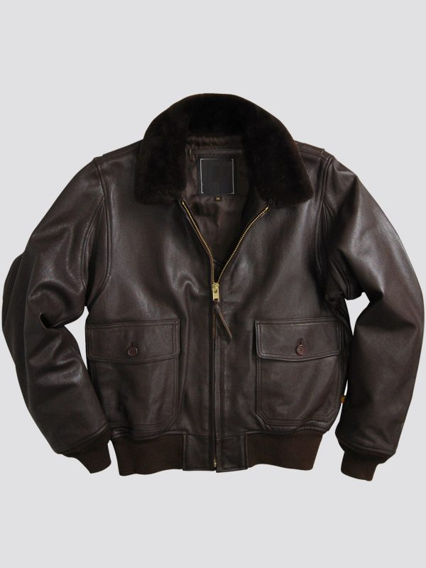 Mens G-1 Leather Jackit