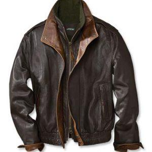 Orvis Avenger Leather Jacket