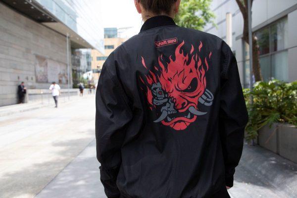 RockstarJackets E3 2019 Cyberpunk 2077 Samurai Reversible Jacket