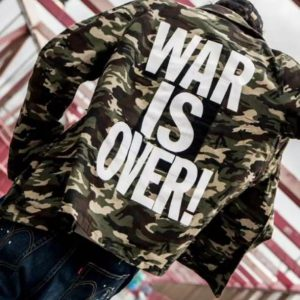 War Is Over Army Commando Jacket