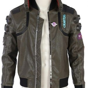 Samurai Cyberpunk 2077 Leather Jacket