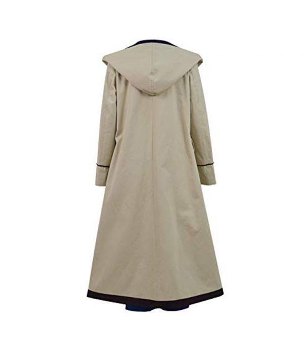 13th Doctor Jodie Whittaker Long Coat back side