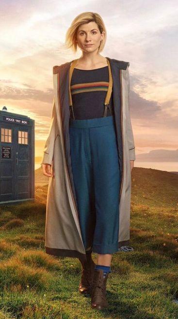 13th Doctor Jodie Whittaker Long Coat