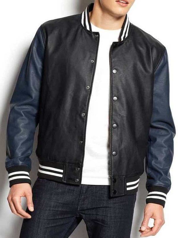 American Rag Fashion Black Varsity Jacket