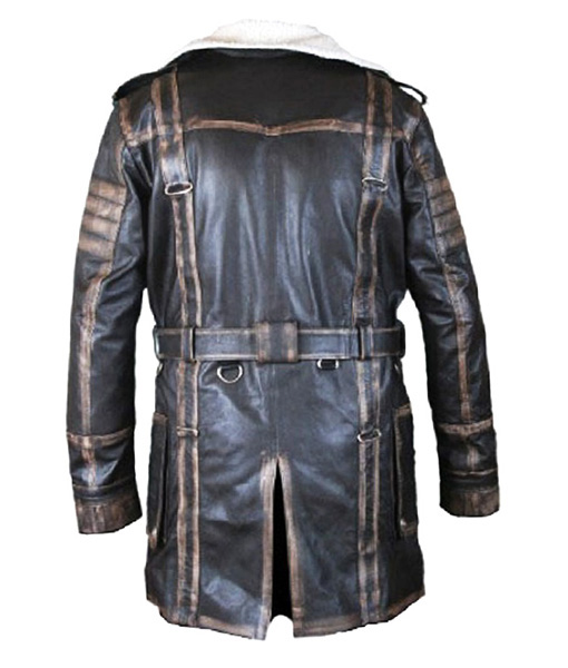 Arthur Maxson Fallout 4 Leather Jacket back side