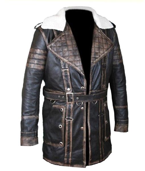 Arthur Maxson Fallout 4 Leather Jacket front side