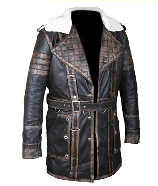 Arthur Maxson Fallout 4 Leather Jacket front side
