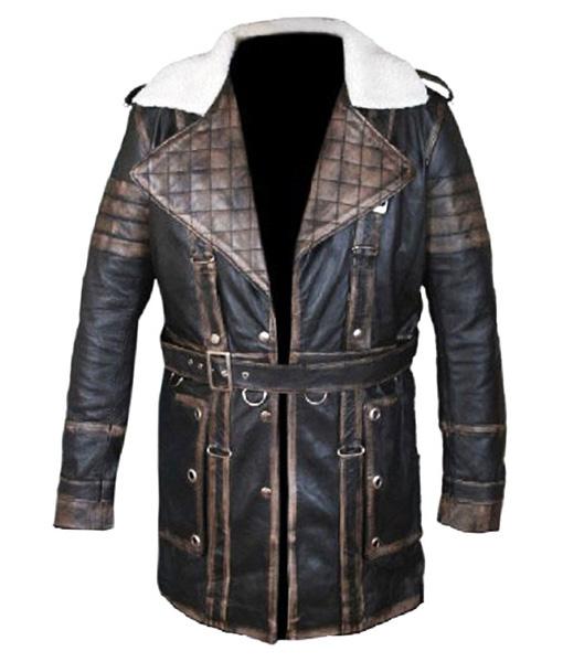 Arthur Maxson Fallout 4 Leather Jacket front