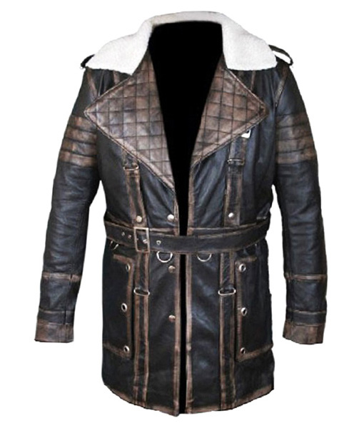 Arthur Maxson Fallout 4 Leather Jacket front