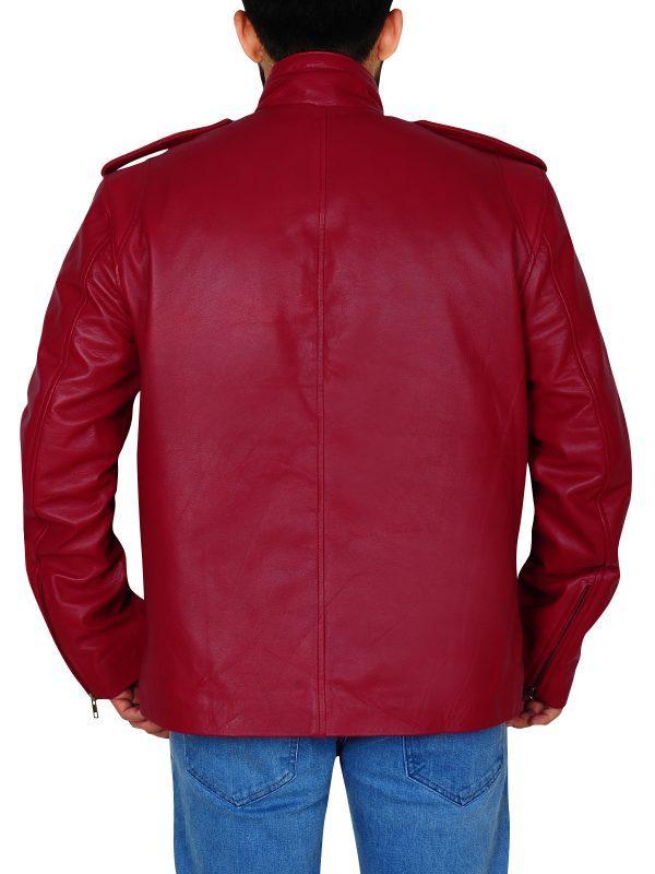 Ash Vs Evil Dead Ash Williams Maroon Jacket back side