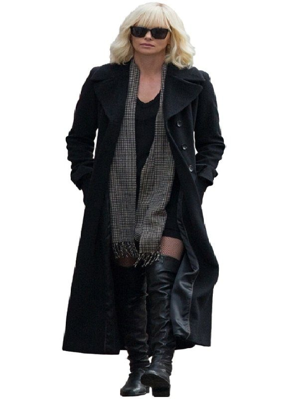 Atomic Blonde Lorraine Broughton Coat look