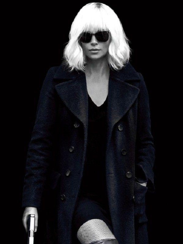 Atomic Blonde Lorraine Broughton Coat side