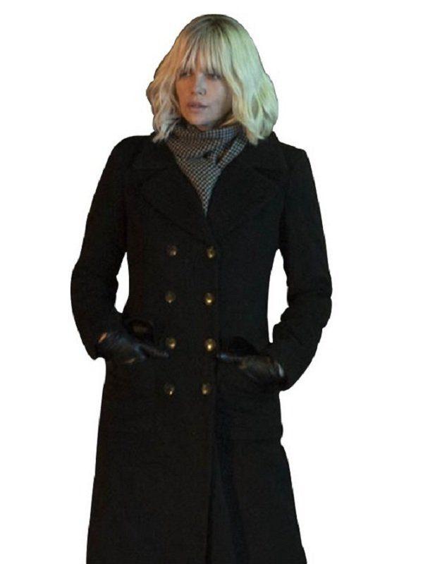 Atomic Blonde Lorraine Broughton Coat simple