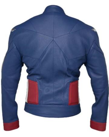 Avengers 4 Endgame Captain America Jacket back side