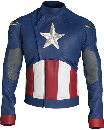 Avengers 4 Endgame Captain America Jacket look