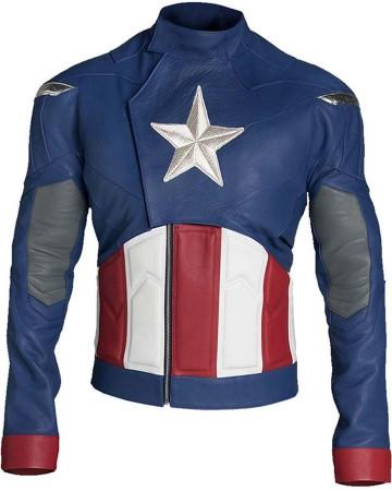 Avengers 4 Endgame Captain America Jacket