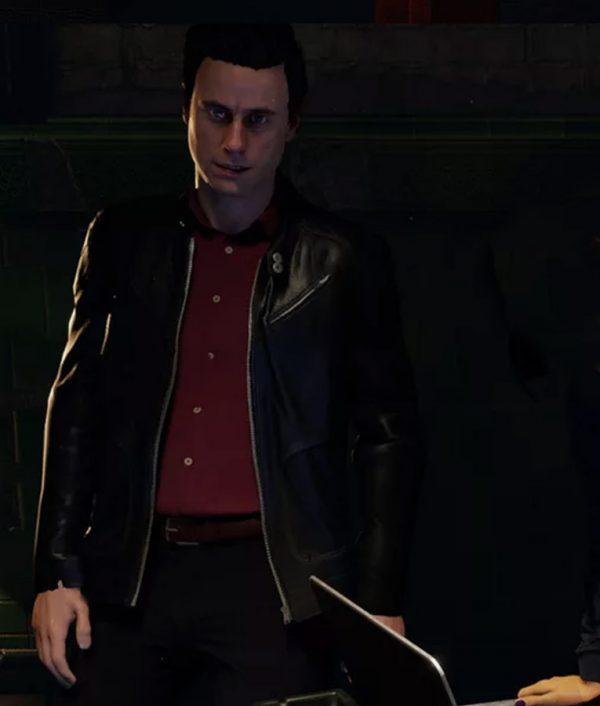 Blood & Truth Nick Marks Leather Jacket