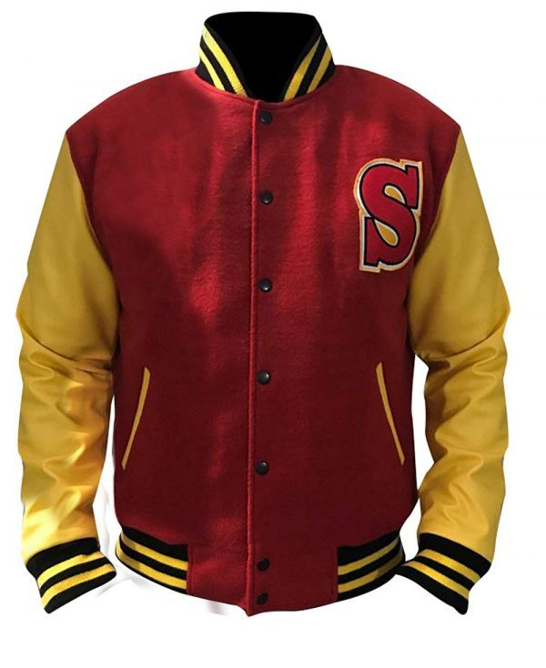 Clark Kent Crows smallville Letterman Jacket
