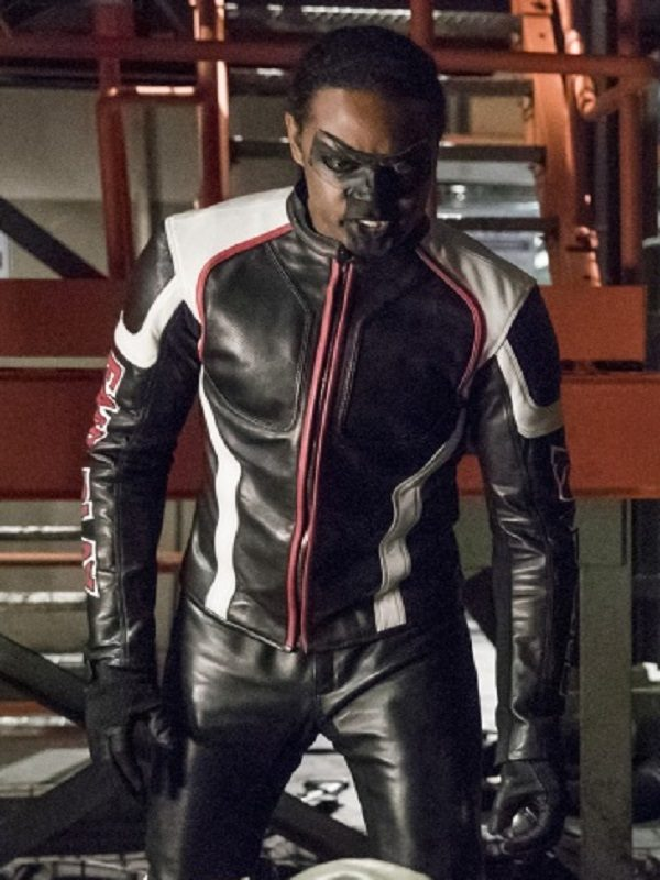 Echo Kellum Arrow Cosplay Leather Jacket acha