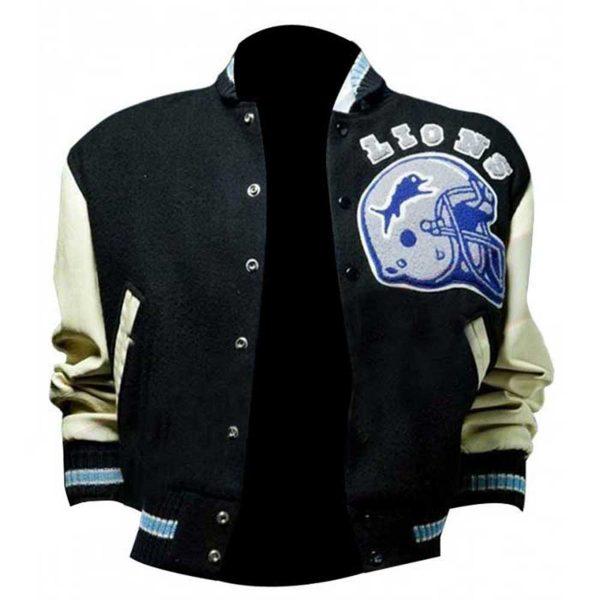 Eddie Murphy Cop Beverly Hills Baseball Letterman Jacket Front Look