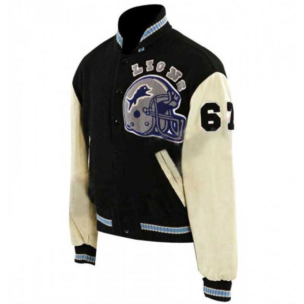 Eddie Murphy Cop Beverly Hills Baseball Letterman Jacket Side Look