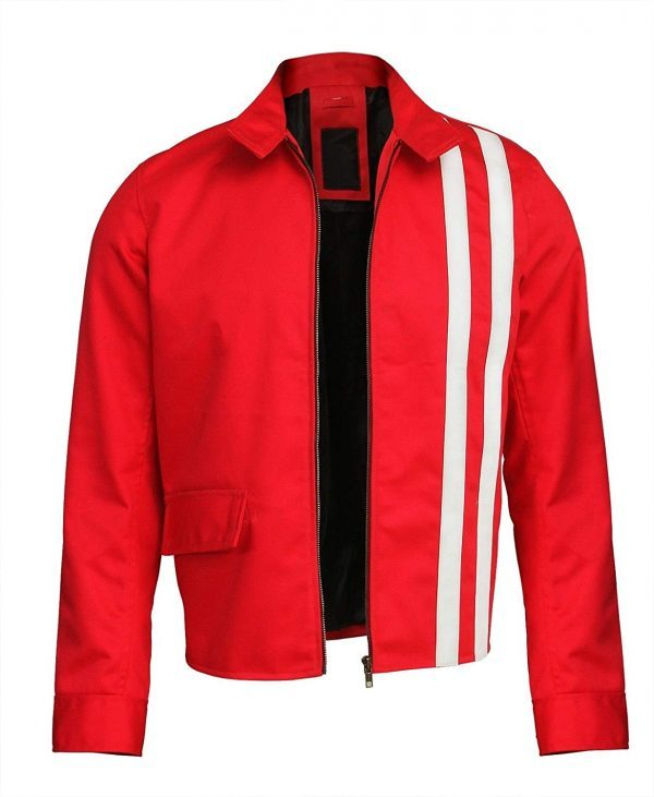 Elvis Presley Slimfit Speedway Red Hi Quality Cotton Jacket