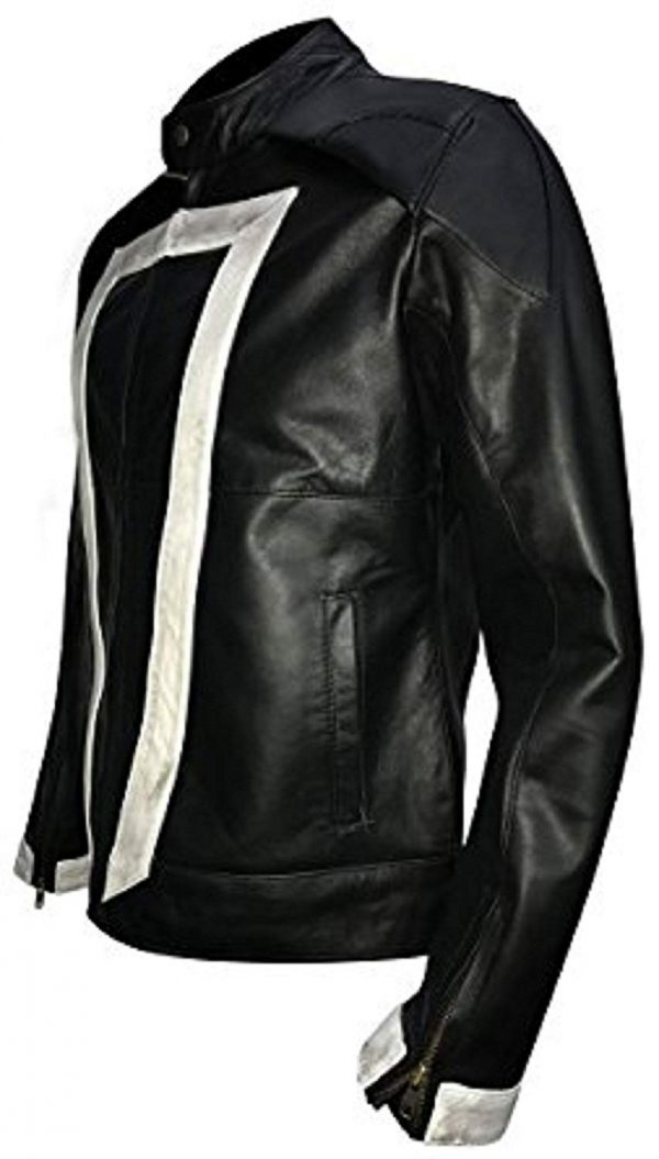 Get Ghost Rider Agents of Shield Robbie Reyes Biker Synthetic Leather Jacket
