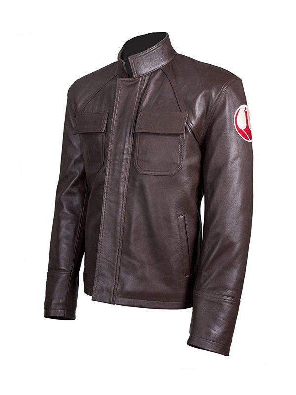 Get Poe Dameron Star Wars Genuine Brown Leather Jacket