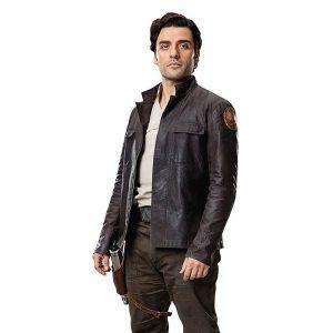 Get Star Wars Poe Dameron Leather Jacket side