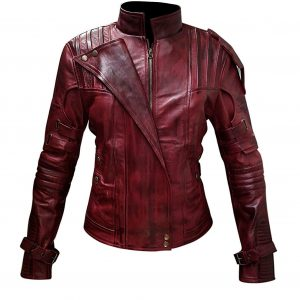 Guardian of Galaxy Star Lord Vol 2 Leather Jacket