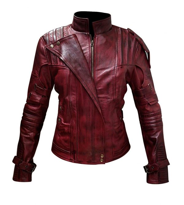 Guardian of Galaxy Star Lord Vol 2 Leather Jacket look