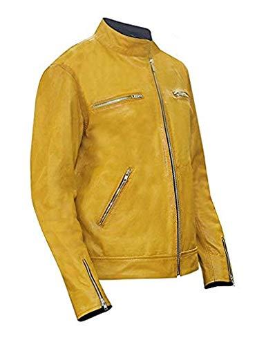 Holistic-Dirk-Gentlys-Detective-Samuel-Barnett-Leather-Jacket